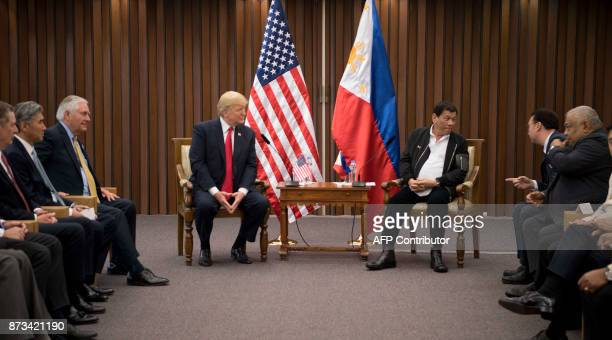 US President Donald Trump and Philippine President Rodrigo Duterte attned their bilateral meeting on the sideline of the 31st Association of South...