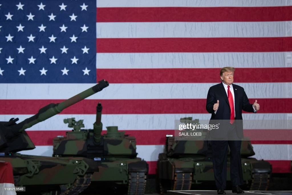 OH: President Trump Visits U.S. Army Tank Plant In Ohio
