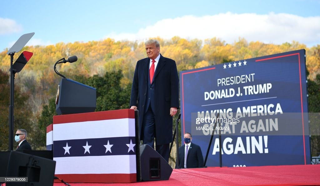 Trump-US-vote-RALLY : News Photo