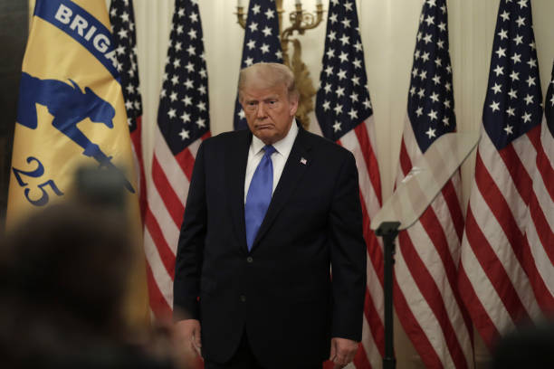 DC: President Trump Delivers Remarks On Bay Of Pigs Veterans