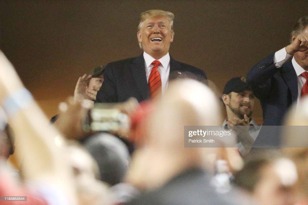 World Series - Houston Astros v Washington Nationals - Game Five : News Photo