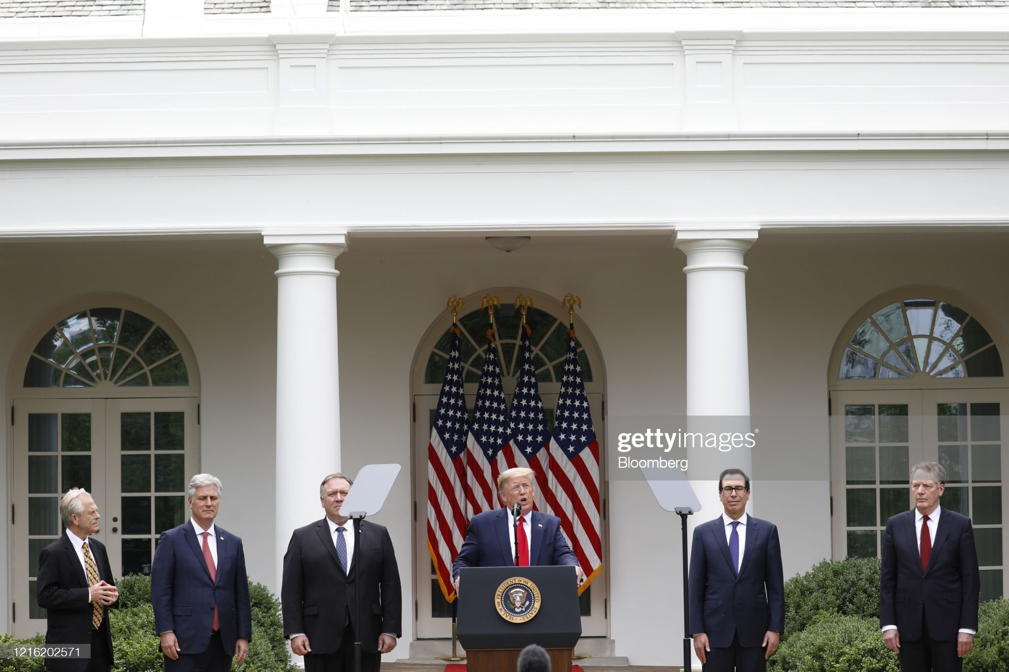 President Trump Holds News Conference : News Photo