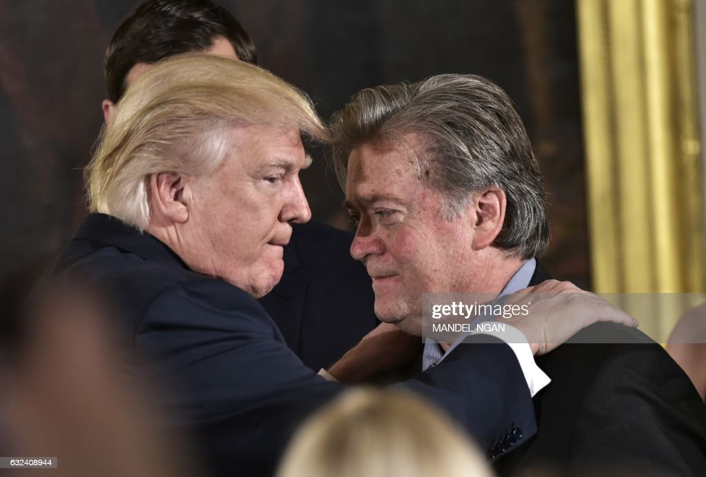 US-POLITICS-TRUMP-STAFF : News Photo