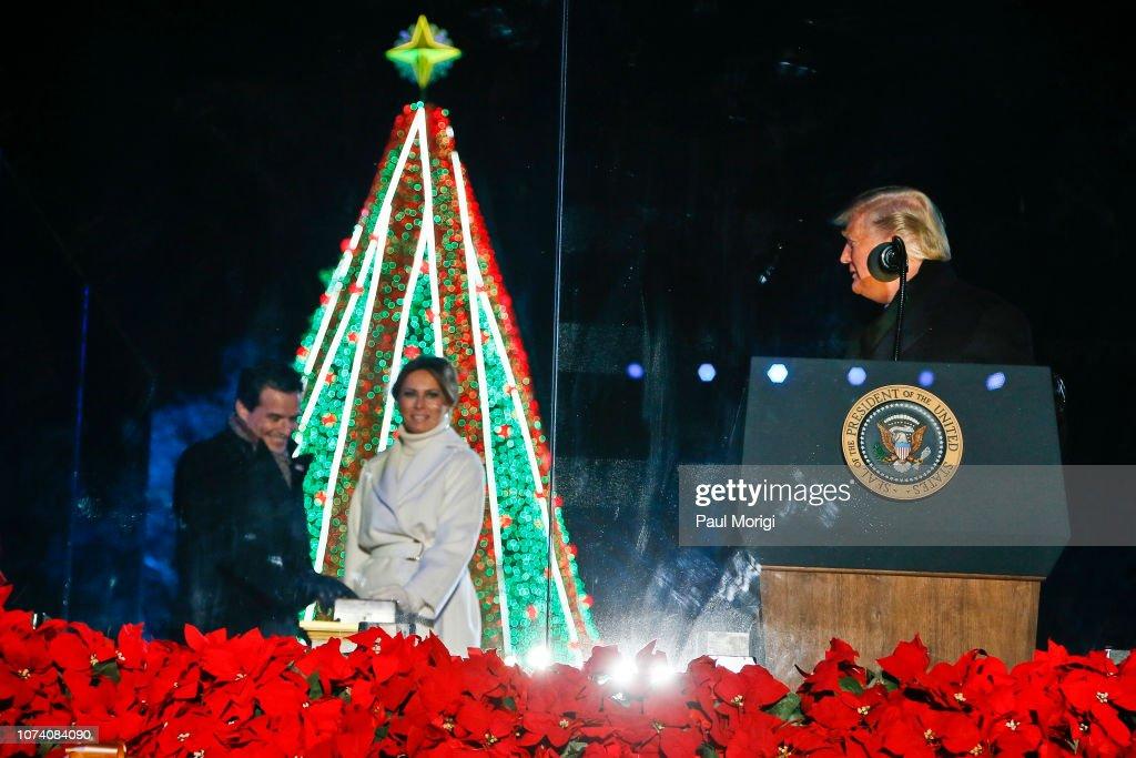 96th Annual National Christmas Tree Lighting : News Photo