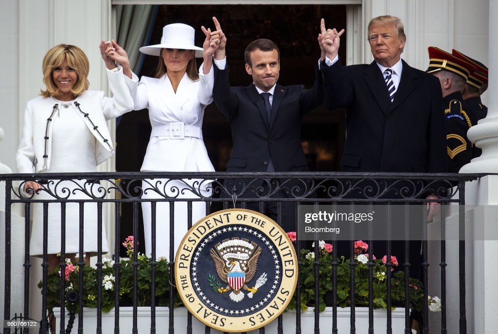 DC: President Trump Hosts French President Emanuel Macron For State Visit At The White House
