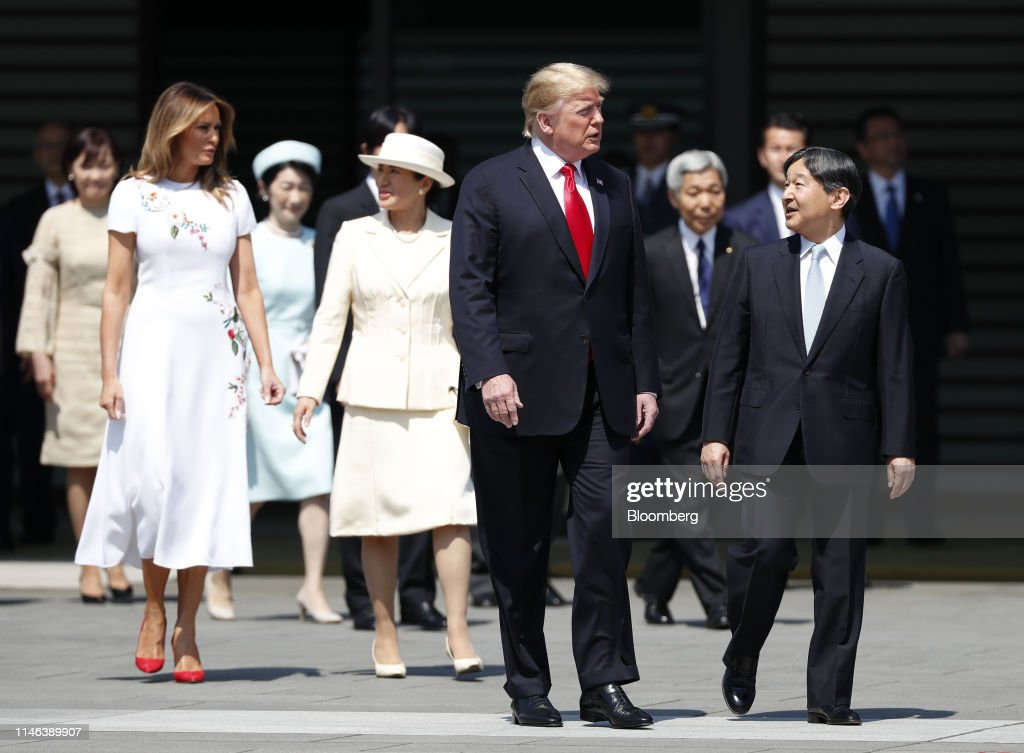 JPN: U.S. President Donald Trump to Face Off With Japan's Abe Over Trade On Third Day of Visit