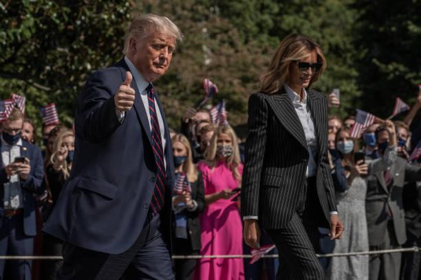 DC: President Trump Departs White House For Ohio