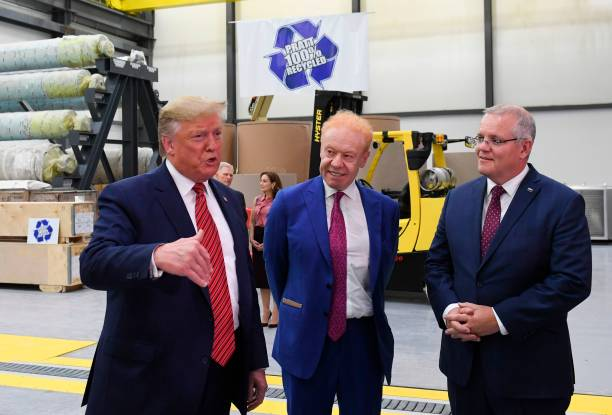 OH: President Trump Visits Recycled Paper And Packaging Plant In Ohio