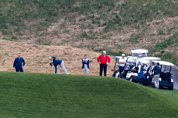 VA: President Trump Returns To Trump National Golf Club