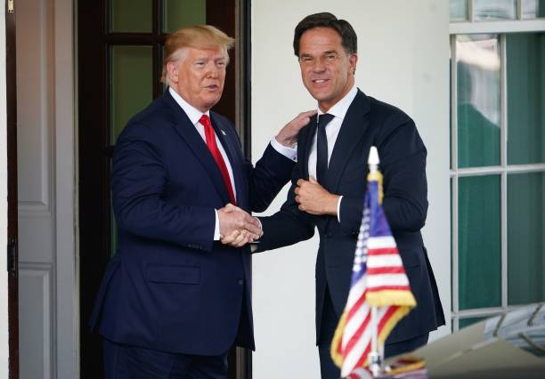 DC: President Donald Trump Welcomes The Prime Minister Of The Netherlands To The White House