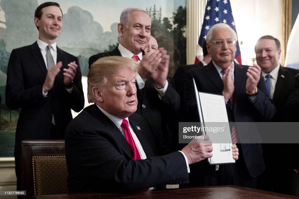 DC: President Trump Hosts Israeli Prime Minister Netanyahu At The White House