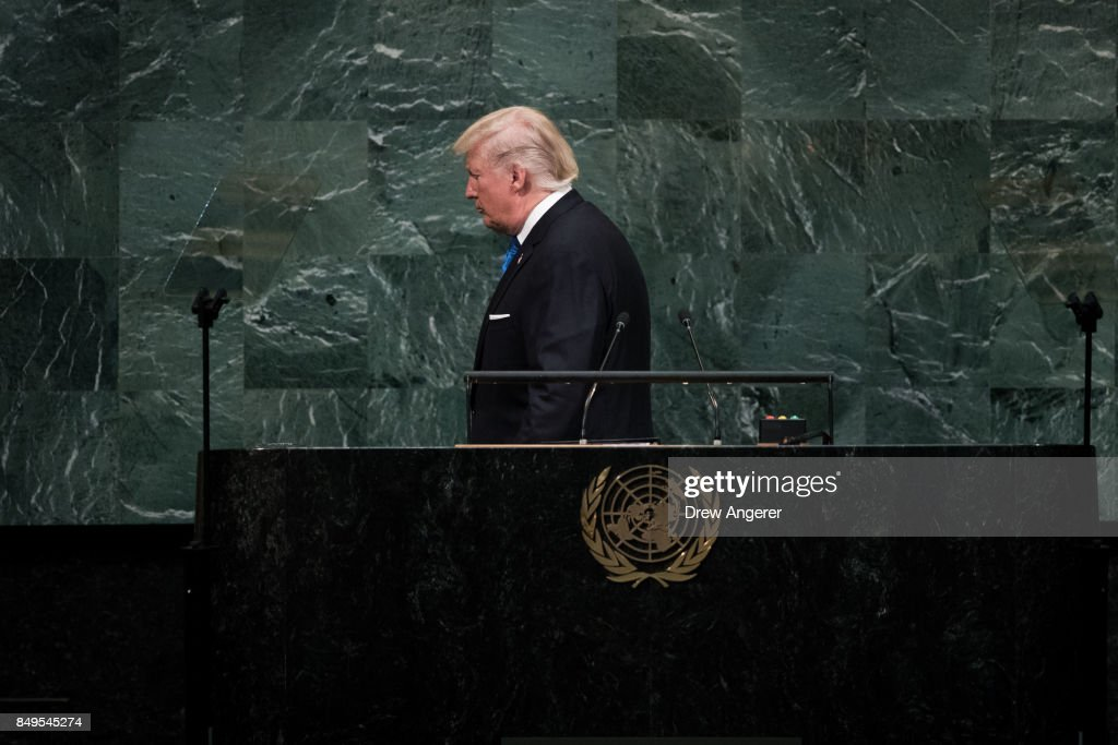 World Leaders Address Annual United Nations General Assembly : News Photo
