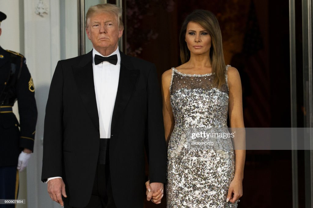 The Trumps' First State Dinner