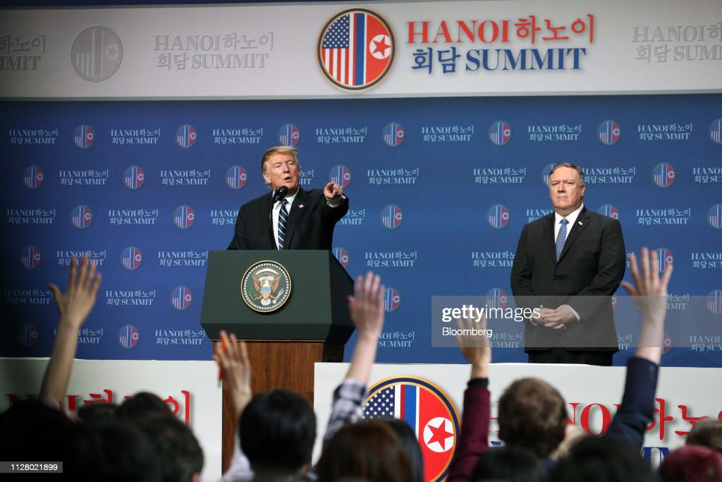 DPRK-USA Summit Takes Place in Hanoi : News Photo