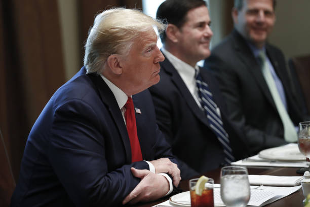 DC: President Trump Holds Working Lunch With Governors On Workforce Freedom And Mobility
