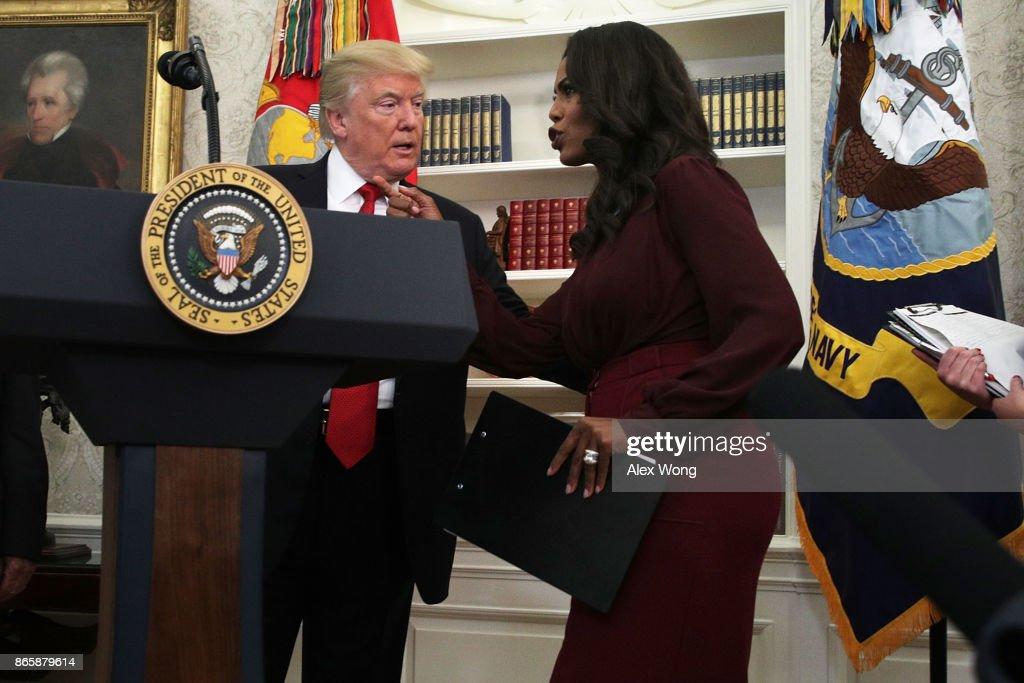 President Trump Attends Minority Enterprise Development Week Awards Ceremony At The White House : News Photo