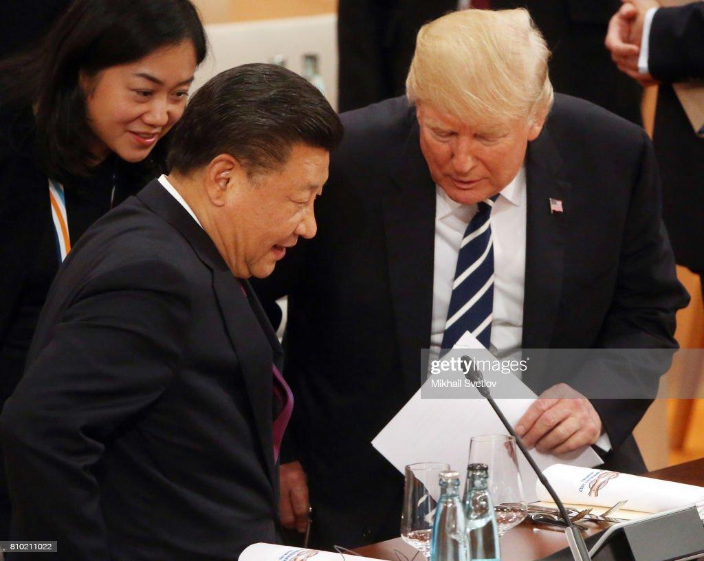 G20 Nations Hold Hamburg Summit : News Photo