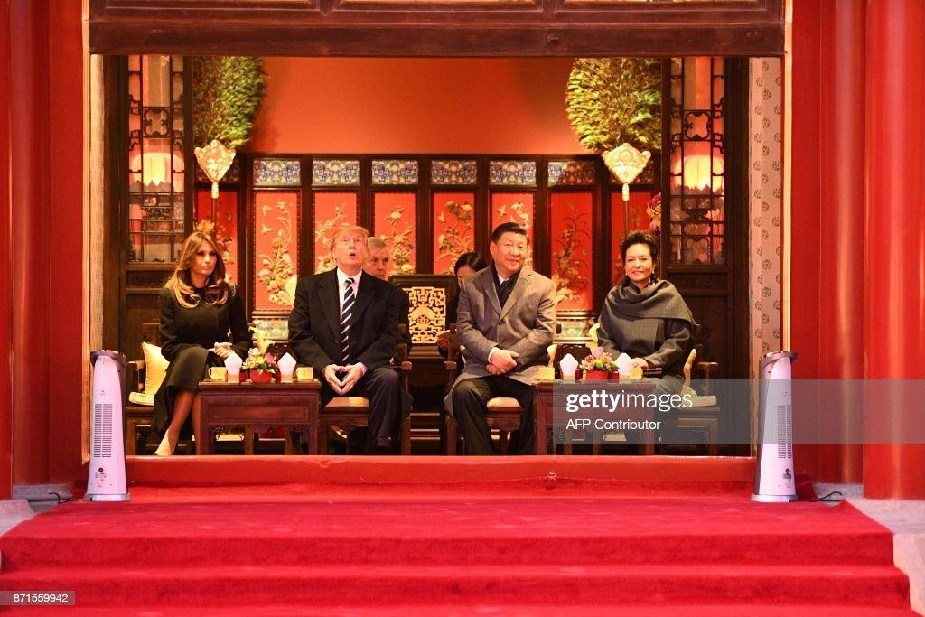 TOPSHOT-CHINA-US-TRUMP-POLITICS-DIPLOMACY : News Photo