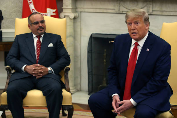 DC: President Donald Trump Welcomes The Crown Prince Of Bahrain To The White House
