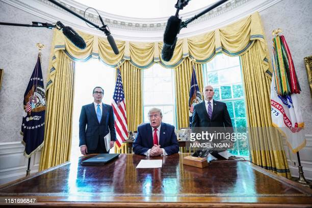 DC: President Trump Signs Executive Order For New Sanctions On Iran