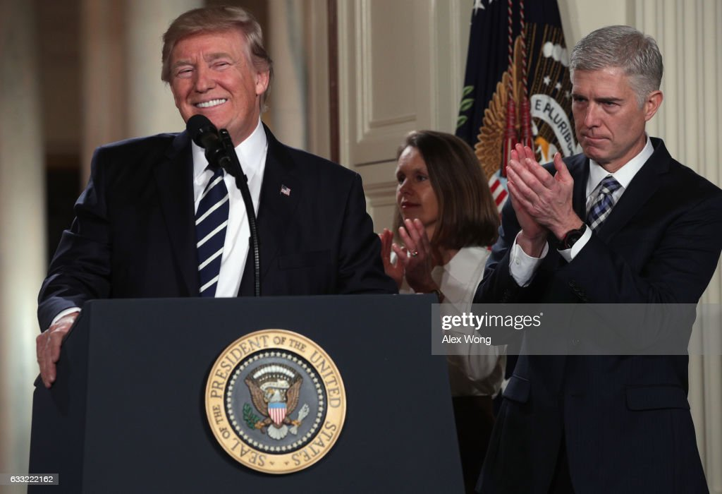 President Trump Announces His Supreme Court Nominee : News Photo