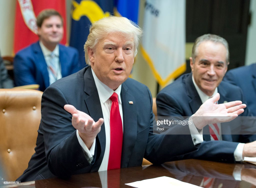 President Trump Holds A Listening Session With GOP Members