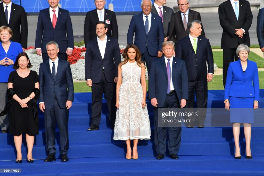 BELGIUM-NATO-DEFENCE-POLITICS-SUMMIT : News Photo