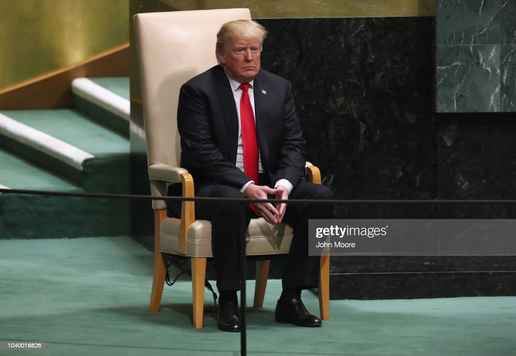 World Leaders Address The United Nations General Assembly : News Photo