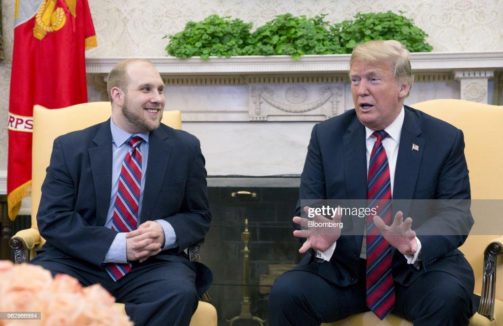 President Trump Hosts Jailed U.S. Citizen Joshua Holt After Venezuela Release.