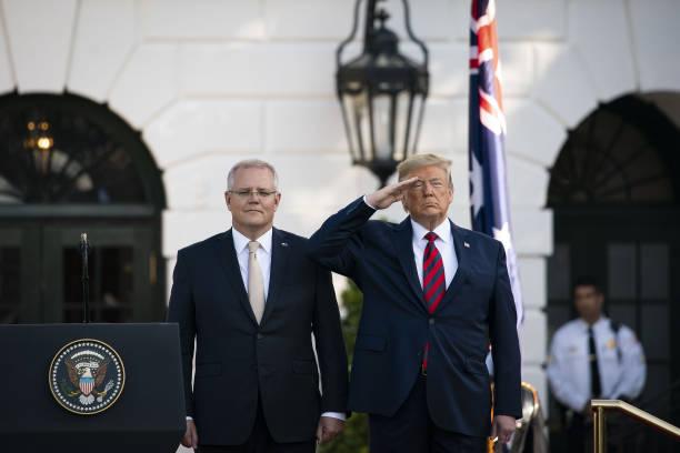 DC: President Trump Hosts State Visit For Australia's Prime Minister Scott Morrison