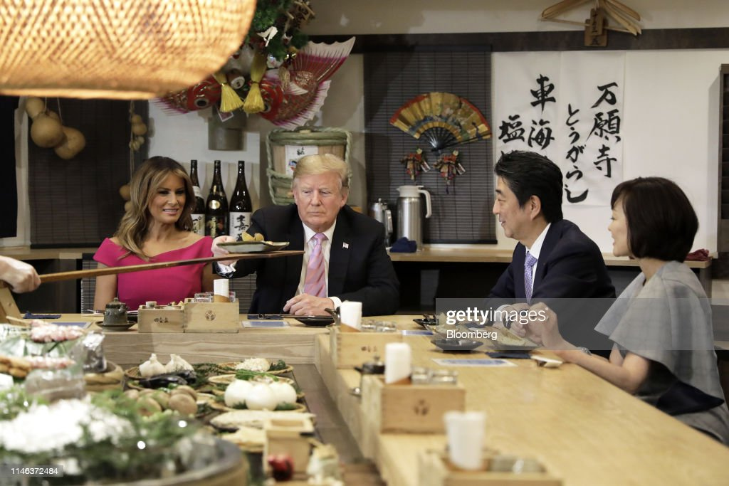 Day Two of President Trump's Visit to Japan : ニュース写真