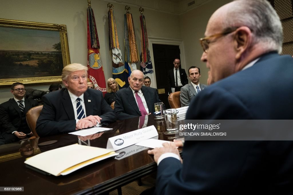 US-POLITICS-TRUMP-CYBER SECURITY : News Photo
