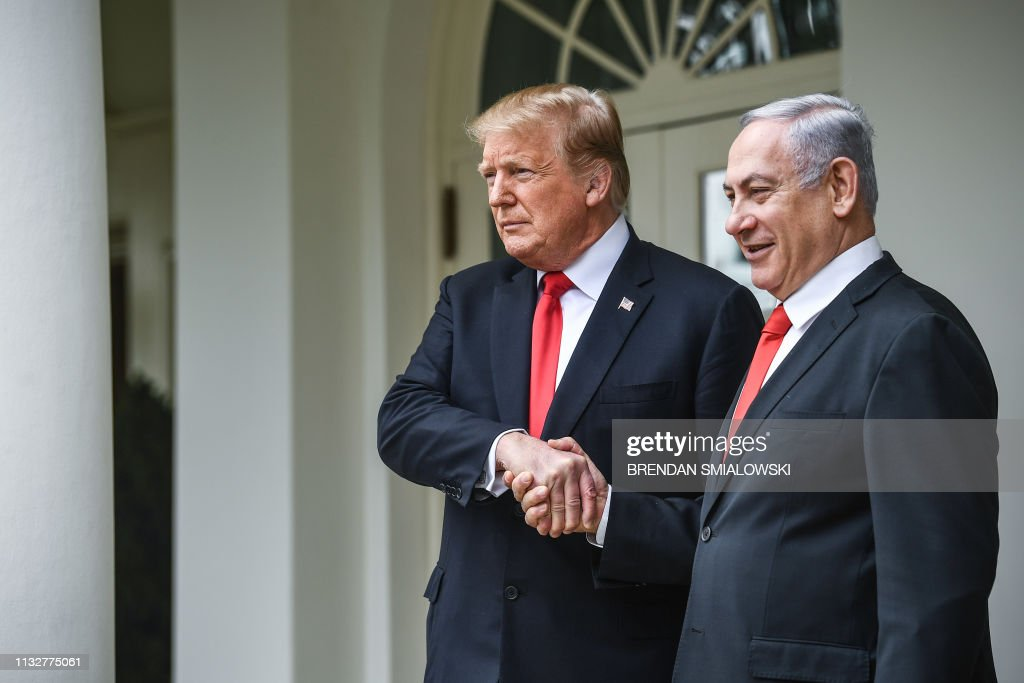 US-ISRAEL-DIPLOMACY-POLITICS : News Photo