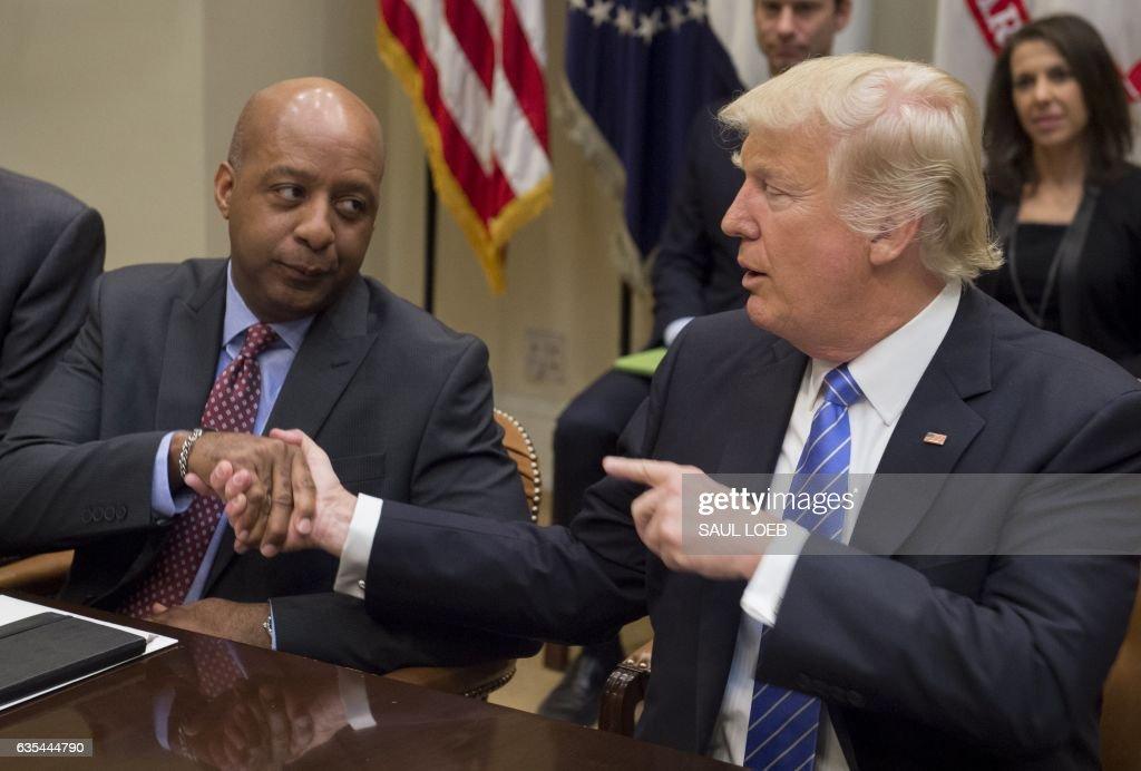 US-POLITICS-TRUMP-RETAIL : News Photo