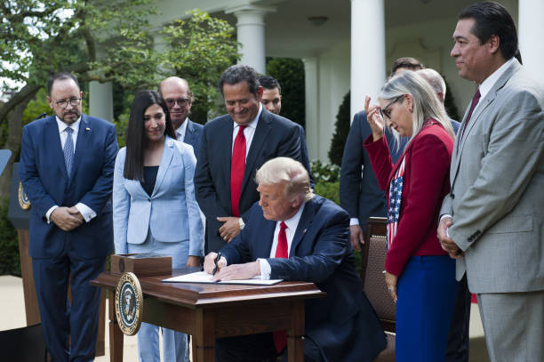 DC: President Trump Signs Executive Order On White House Hispanic Prosperity Initiative