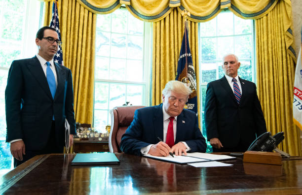 DC: President Trump Signs Executive Order Imposing Sanctions On Supreme Leader Of Iran