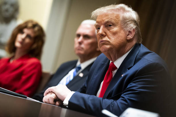DC: President Trump Meets With U.S. Tech Workers And Signs Hiring Executive Order