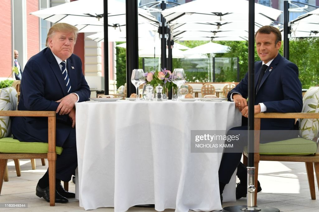 FRANCE-G7-SUMMIT : News Photo