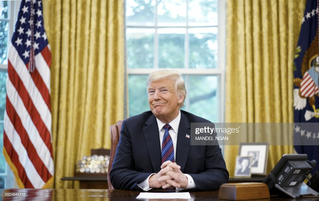 US-MEXICO-CANADA-NAFTA-TRADE-TRUMP : News Photo