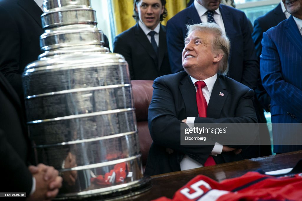 President Trump Hosts the 2018 Stanley Cup Champions: Washington Capitals : News Photo