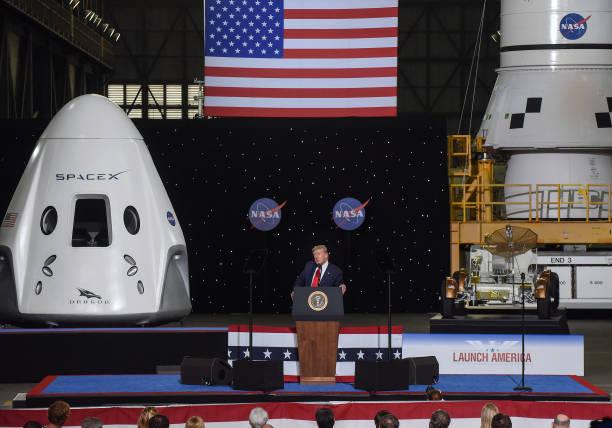 FL: Donald Trump at SpaceX and NASA Launch