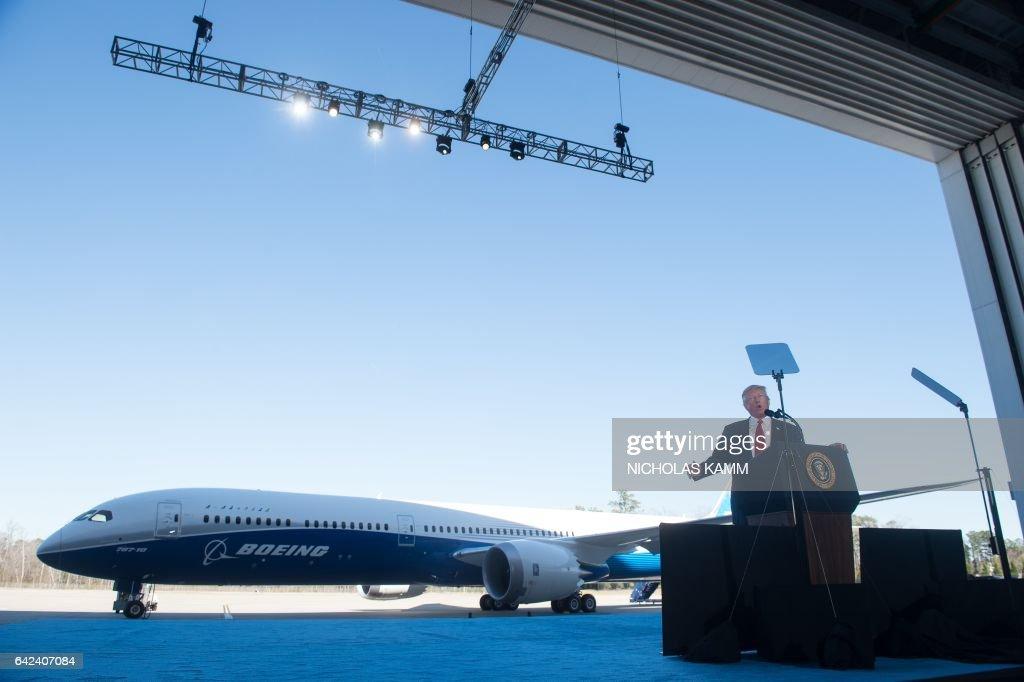 US-POLITICS-TRUMP-BOEING : News Photo