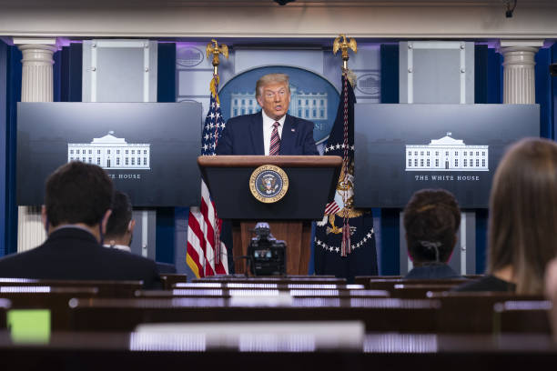 DC: President Trump Holds News Conference