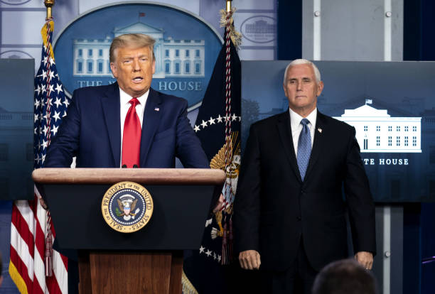 DC: President Trump Delivers Remarks At The White House