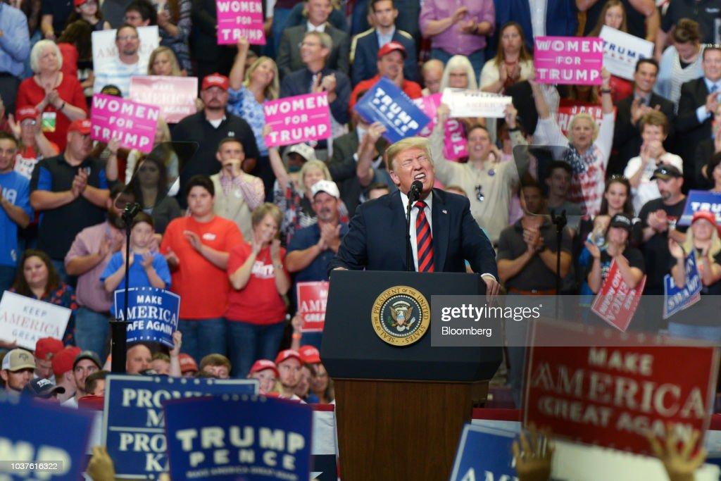 President Trump Endorses U.S. Senate Candidate Josh Hawley