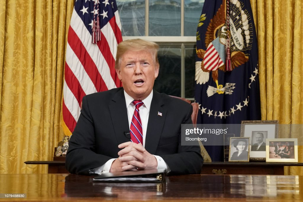 President Trump Addresses Nation On Border Security : News Photo
