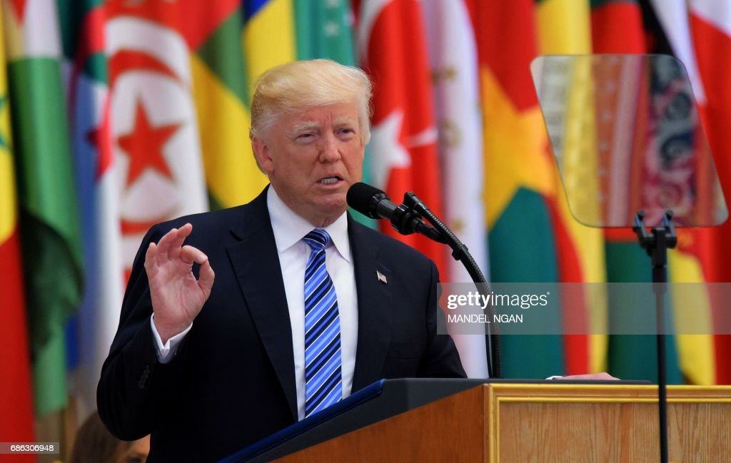 US-SAUDI-ISLAMIC-SUMMIT-TRUMP : Nachrichtenfoto