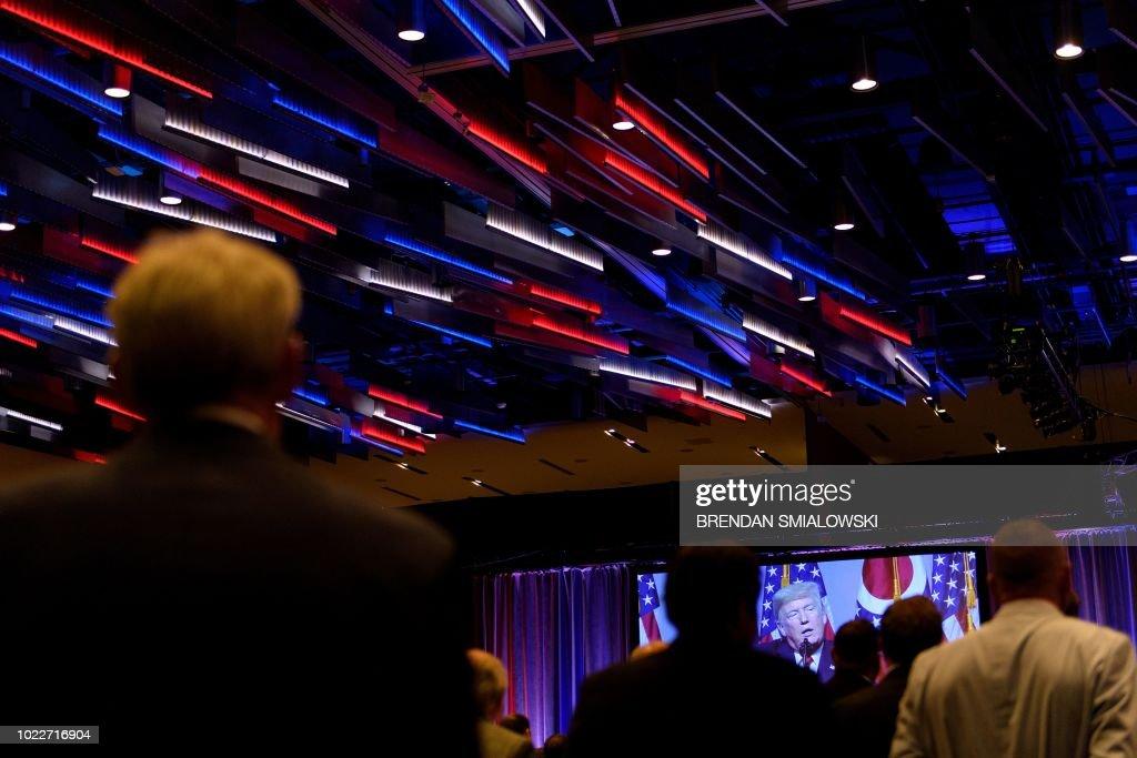 US-POLITICS-TRUMP-REPUBLICANS : News Photo