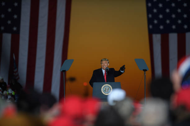 PA: President Donald Trump Holds Rally In Butler, Pennsylvania