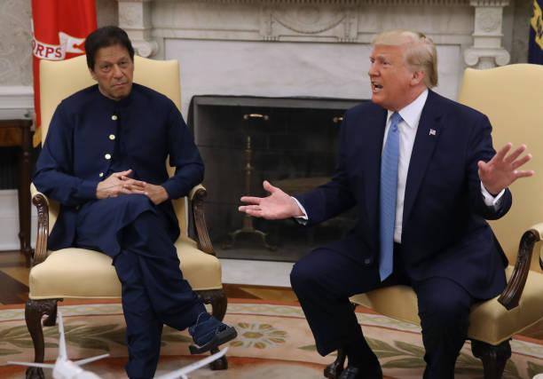DC: President Donald Trump Meets With Pakastani Prime Minister Imran Khan At The White House